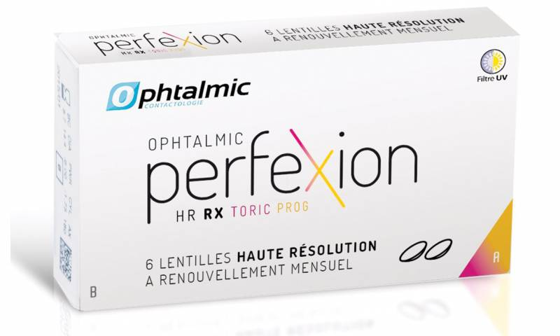 Lentilles souples en silicone hydrogel mensuelles HR progressives toriques perfeXion