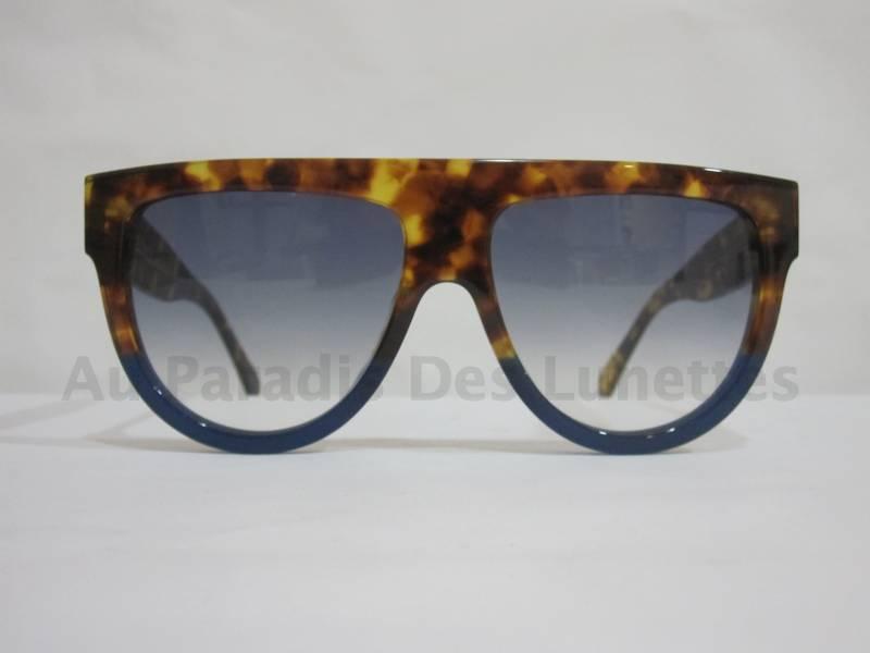 5d273590668f86 Lunettes de soleil celine best seller kim kardashian écaille bleu ...