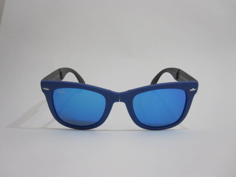 ray ban wayfarer bleu miroir