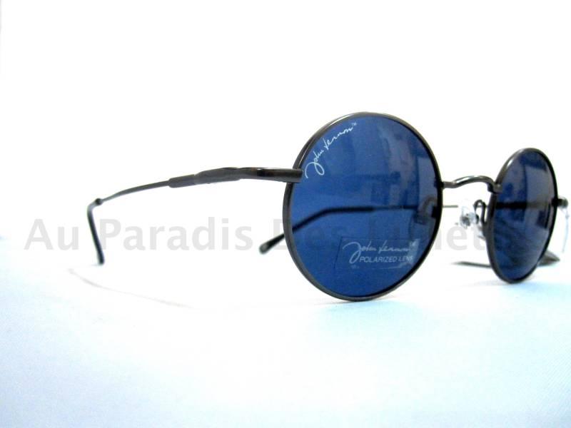 851a3054e8b Lunettes de soleil rondes john lennon verres polarisés bleus - Au ...
