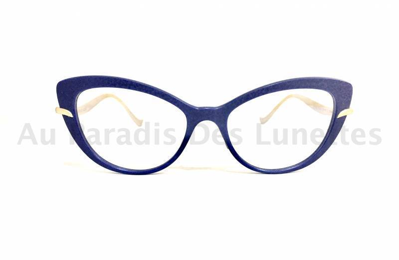 Vue de face lunettes de vue Caroline Abram