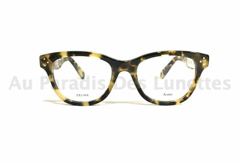 Vue de face lunettes de vue Céline