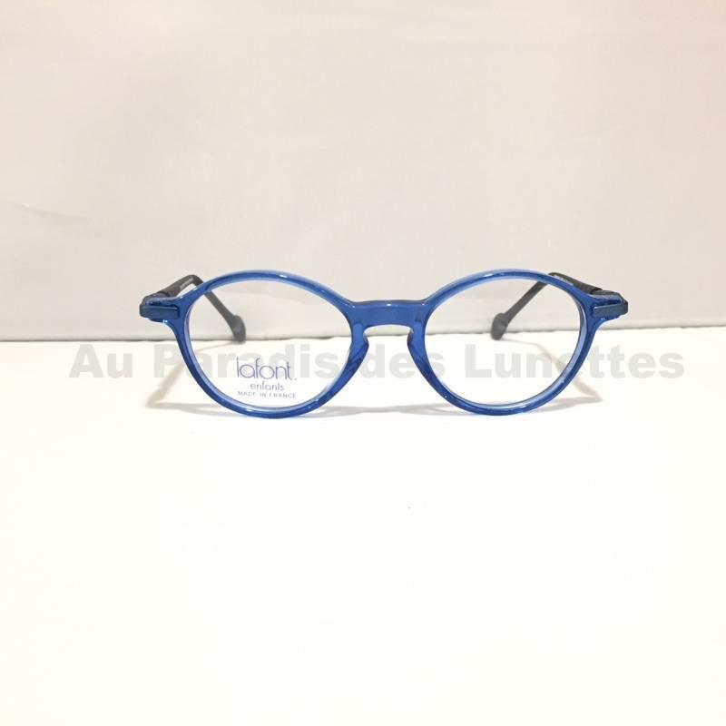 lunettes bleues pour garçons Lafont Paris