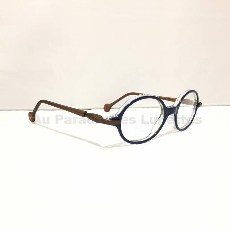 Vente de lunettes de soleil ou de vue   Lunettes de vue enfants LAFONT  rondes bleu marine 4d4dcbe36c30