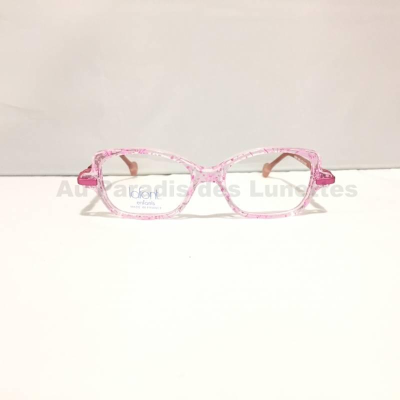 lunettes filles Lafont paris rose