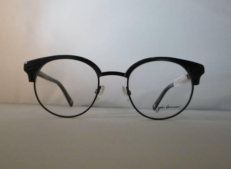 Lunettes de vue originale John Lennon combiné noir/acetate gris