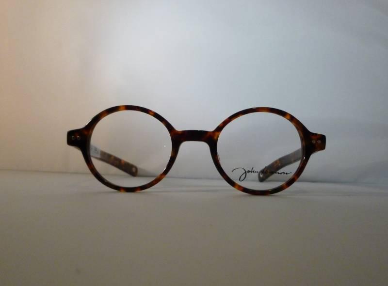 Vue de face lunettes de vue John Lennon