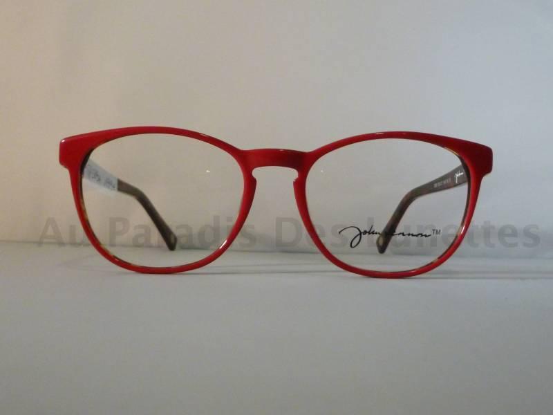 15e5ef58c3 ... Lunettes de vue John Lennon rouge intérieur écaille. John Lennon. /  Retour. /. John Lennon