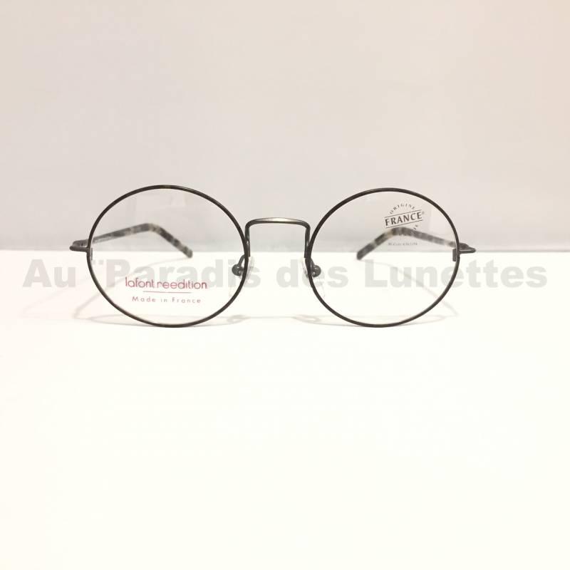 Vente de lunettes de soleil ou de vue   Lunettes de vue Lafont rondes en  métal gris. Accueil     Lunettes de vue Homme · Lunettes ... 8fe775e23086