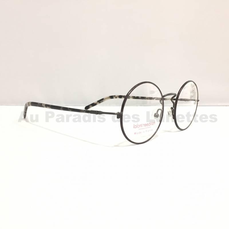 Vente de lunettes de soleil ou de vue   Lunettes de vue Lafont rondes en  métal gris f39cfcbea3f5