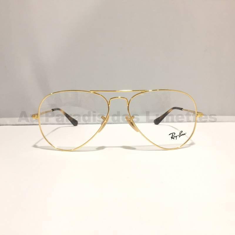 lunette de vue ray ban aviator femme