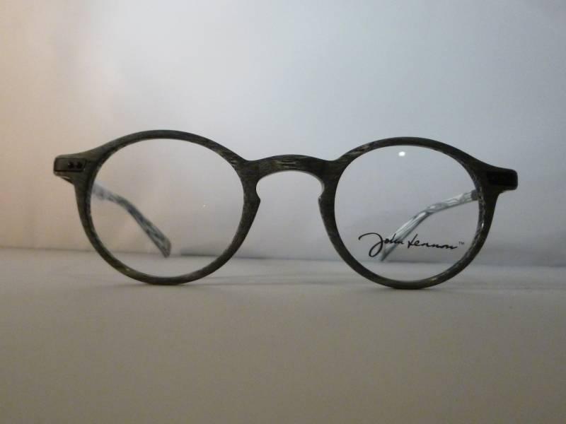 lunettes de vue ronde john lennon couleur gris clair bross au paradis des lunettes. Black Bedroom Furniture Sets. Home Design Ideas
