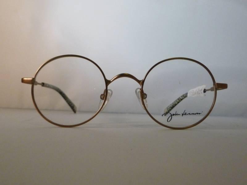 lunettes de vue ronde john lennon avec ses manchons en mosa que au paradis des lunettes. Black Bedroom Furniture Sets. Home Design Ideas