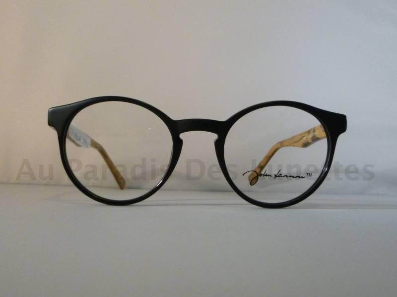 Lunettes de vue John Lennon imitation bois