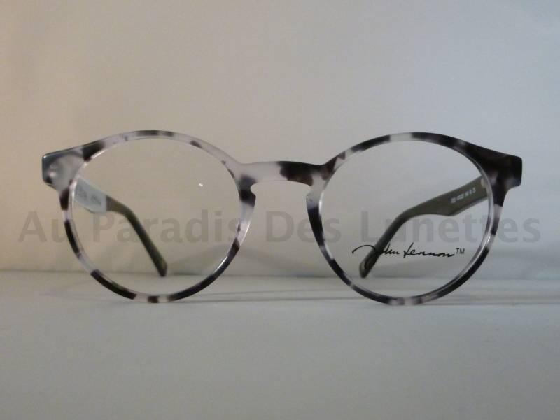Lunettes de vue ronde John Lennon écaille grise