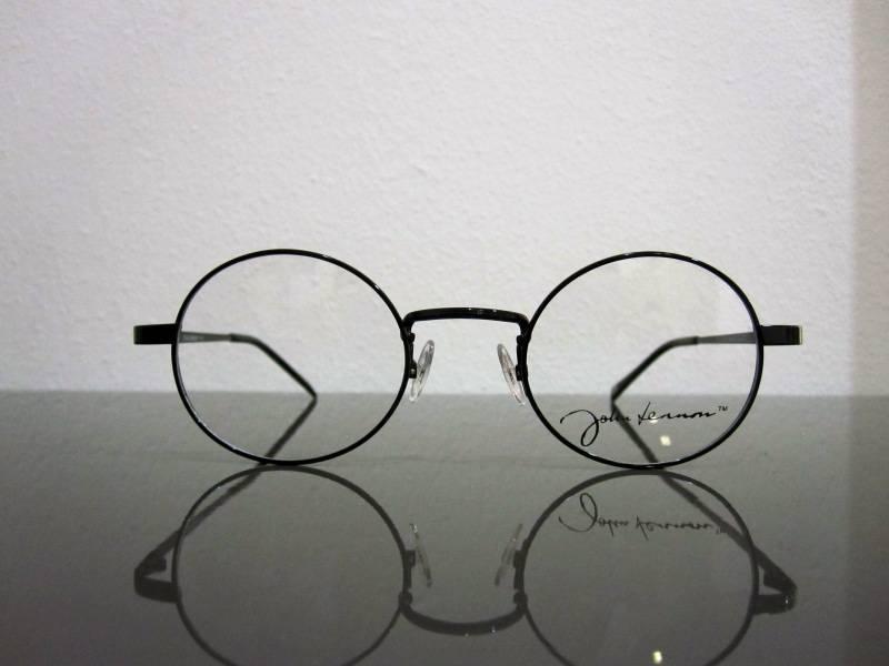Lunettes de vue rondes John Lennon noires