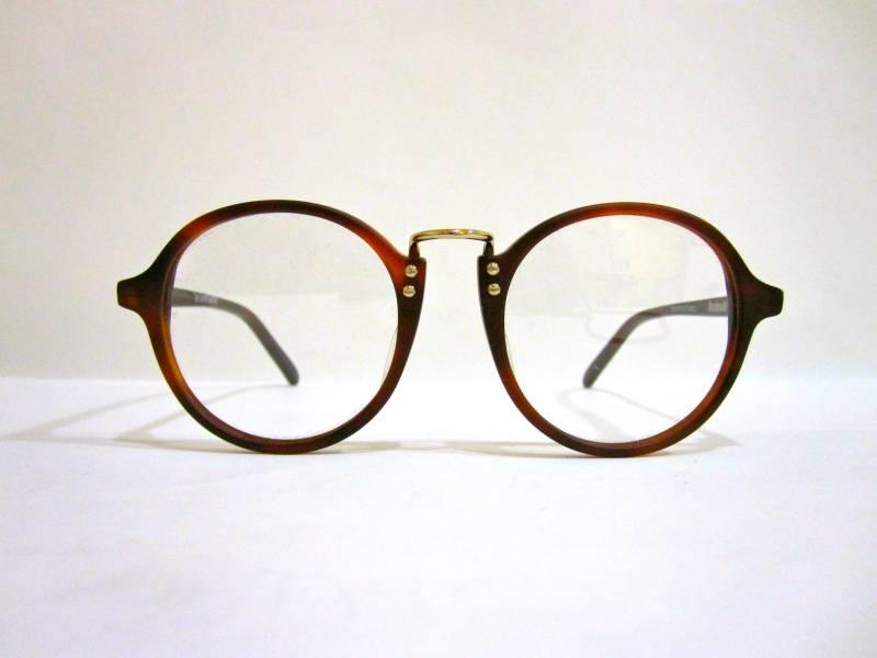 lunettes de vue rondes massada brun mat et dor au paradis des lunettes. Black Bedroom Furniture Sets. Home Design Ideas