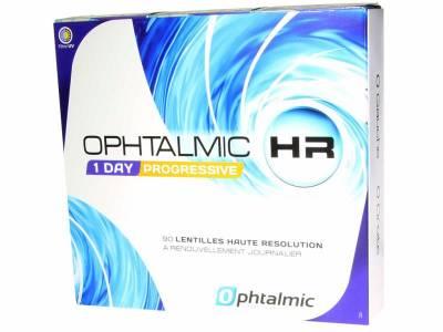 Lentilles souples en silicone hydrogel journalières HR sphériques multifocales Boite de 90 lentilles