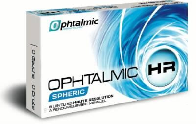 Lentilles souples en silicone hydrogel mensuelles HR sphériques