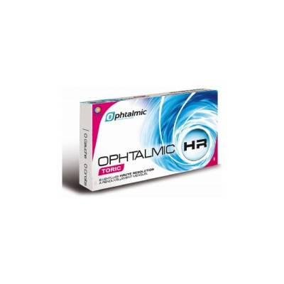 Lentilles souples en silicone hydrogel mensuelles HR toriques