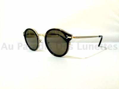 Vue de profil lunettes de soleil Céline