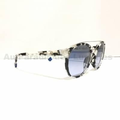 Détails lunettes de soleil Etnia Barcelona gris moucheté