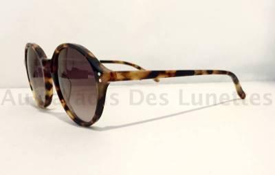 Vue de profil lunettes de soleil MASSADA