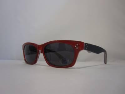 Vue de profil lunettes de soleil Oliver Goldsmith