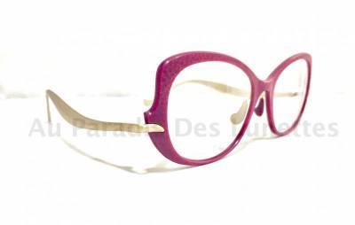 Vue de profil lunettes de vue Caroline Abram
