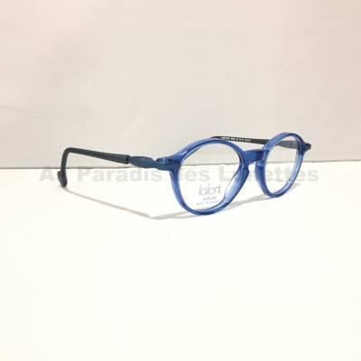 Profil lunettes de vue bleues pour garçons Lafont Paris