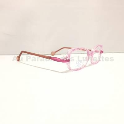 lunettes roses pour filles Lafont