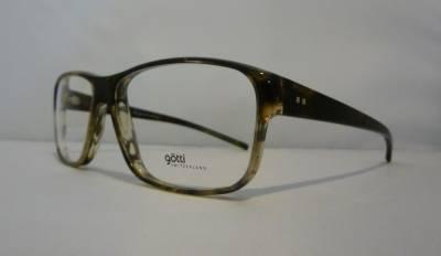 Vue de profil lunettes de vue Götti pour homme