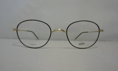 Vue de face lunettes de vue G�tti pour homme
