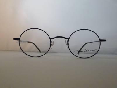 Lunettes de vue en métal bleu John Lennon