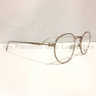 Détails lunettes rondes paul and joe