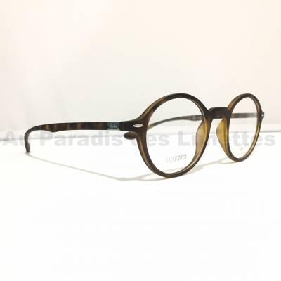 profil lunettes de vue rondes Ray ban