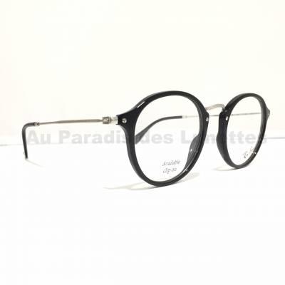 Profil lunetets optiques round fleck Rayban