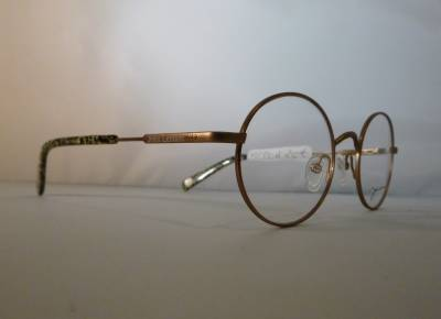 Lunettes de vue ronde John Lennon avec ses manchons en mosaïque