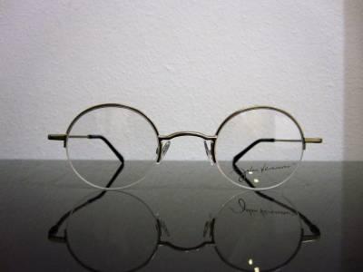Lunettes de vue rondes demi-cercl� John Lennon