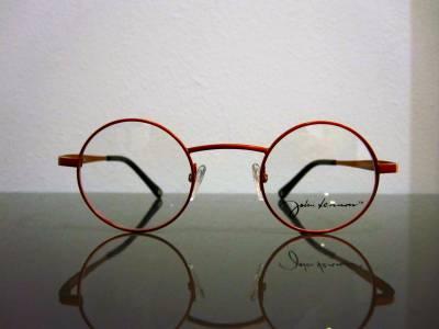 Lunettes de vue John Lennon oranges