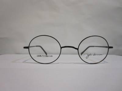Lunettes titane rondes John Lennon sans plaquette